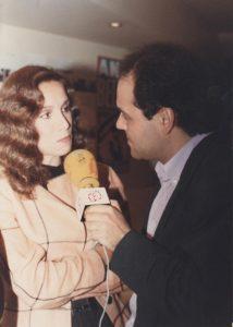Amb Ana Belén 1988