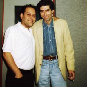 Amb Joquín Sabina-1989