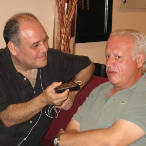 Amb Juan Echanove 2012