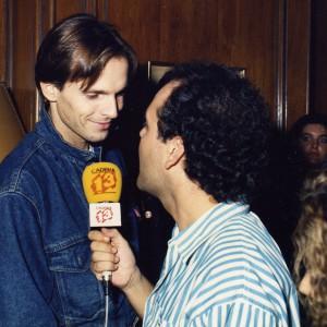 Amb Miguel Bosé-1988
