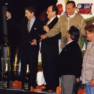 Amb Paco Moran i Joan Pera - 1996