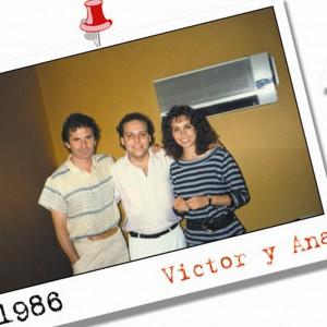 Amb Victor y Ana - 1986