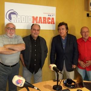 Amb J.M.Francino, J.M.Pallardó i Rafael Turia -Equip del COCODRIL CLUB 2011